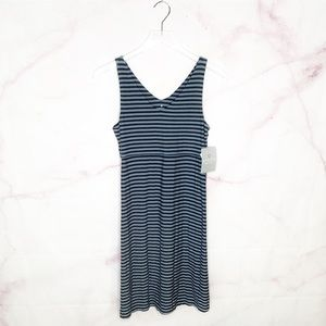 NWT Athleta Tall Santorini Striped Dress